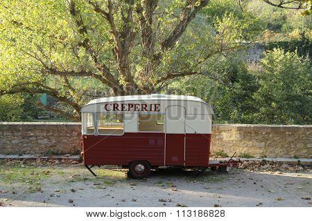 Creperie caravan