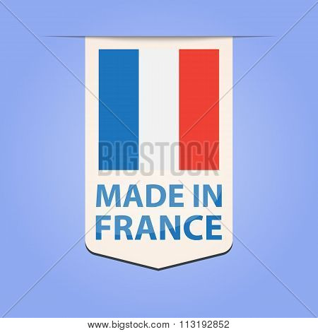 Made in France ribbon