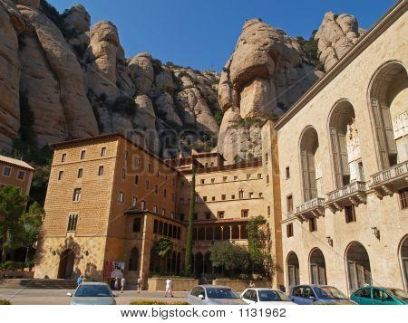 El monasterio de Montserrat, cerca de Barcelona