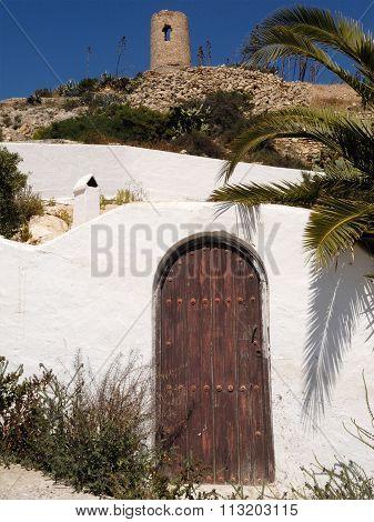 Atalaya, Wachtower, Nijar, Andalucia