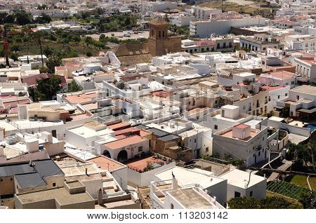 View of Nijar, Almeria, Andalucia