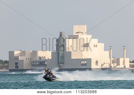 Jet Ski Racing In Doha, Qatar