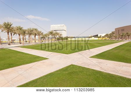 Educational City Campus In Doha, Qatar