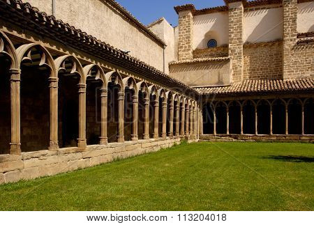 Cloister Of Convent Of San Francisco, Sangüesa