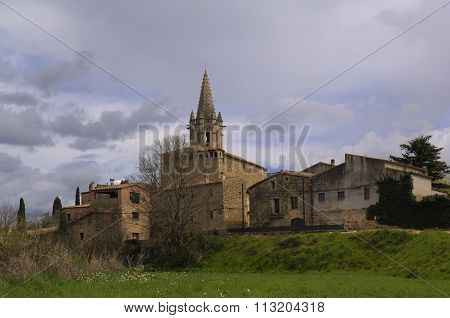 Sant Martí Vell, Girona, Spain