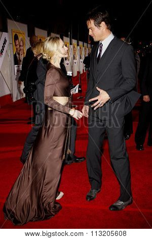 HOLLYWOOD, CALIFORNIA - January 27, 2010. Kristen Bell and Josh Duhamel at the World premiere of
