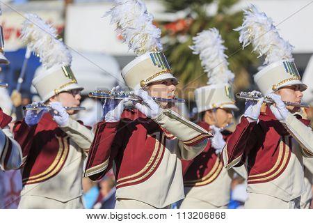 Rose Parade At Pasadena, California, Usa - January 1, 2016