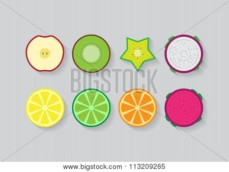 Mixed Slide Fruits