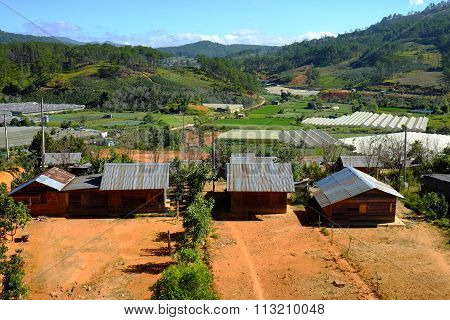 Dalat Countryside, Housing, Settle, Landscape