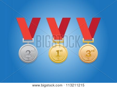 Top 3 Trophy Medals