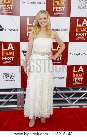 Alison Pill at the 2012 Los Angeles Film Festival premiere of