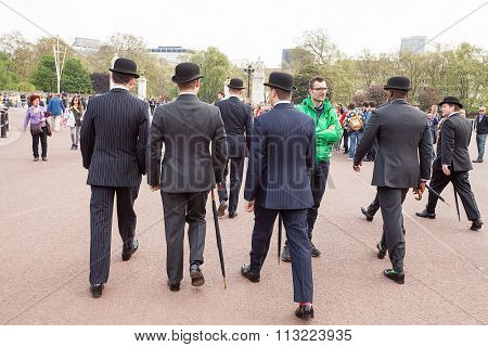 Men in Bowler Hats