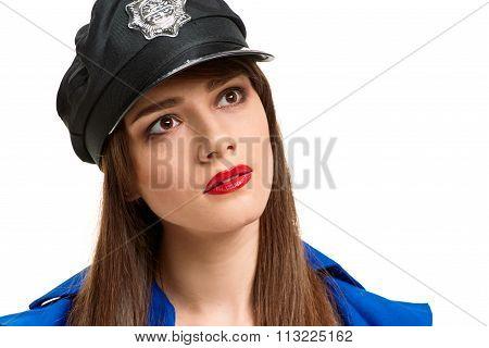 pretty Police girl