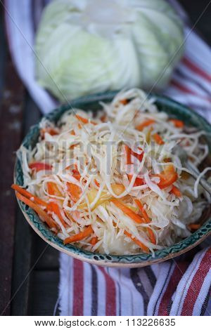 marinade cabbage