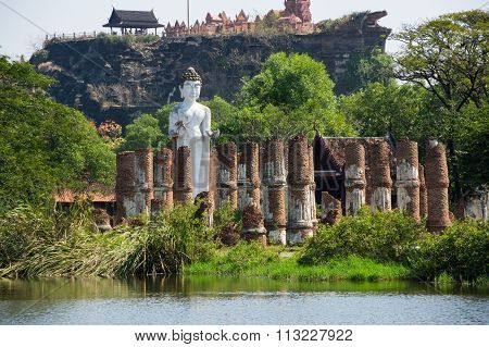 Ancient Temple In Mueang Boran