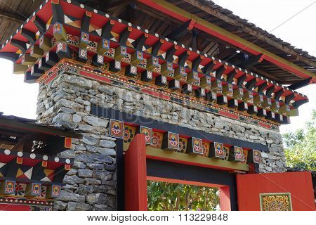 The Design Of Bhutan  Arch