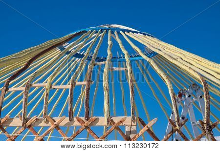 Construction Turkic Yurts