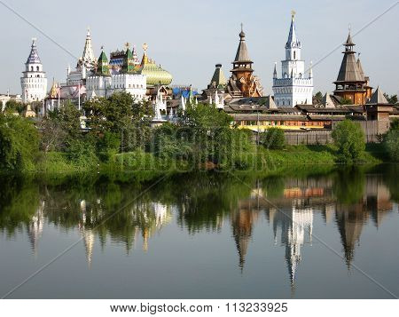 Moscow, Kremlin In Izmaylovo
