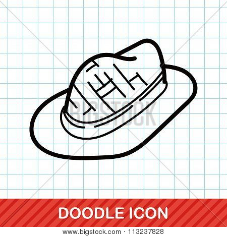 Sun Hat Color Doodle