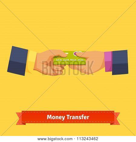 Business transaction concept