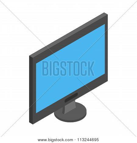 TV isometric 3d icon