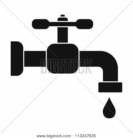 Water tap with knob