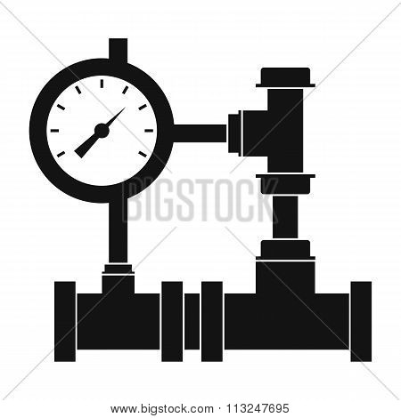 water pipe meter of water, gas,