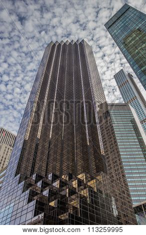Trump Tower At Fifth Avenue In New York City