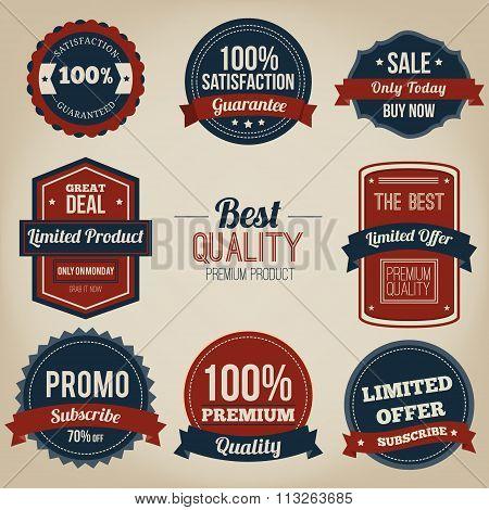 Premium quality vintage label design