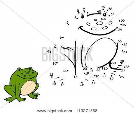 Numbers Game, Game For Children (frog)