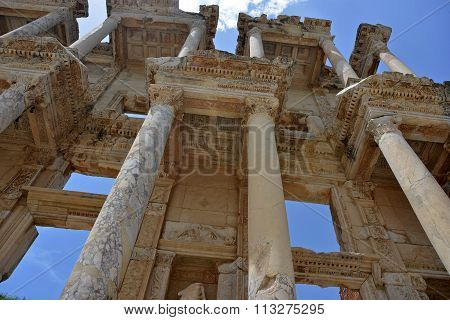 Front Of Celsus Library In Ephesus