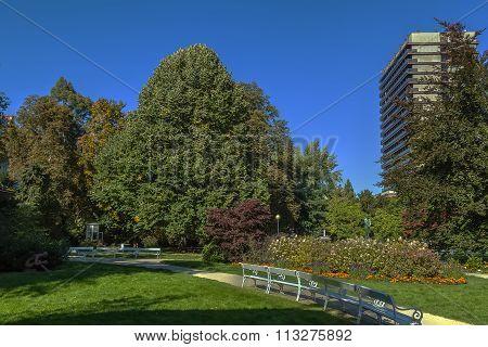Dvorak Park, Karlovy Vary, Czech Republic