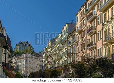 Street In Karlovy Vary, Czech Repablic