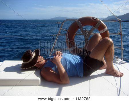 Lazy Boat Day
