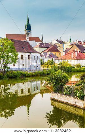 Church Tower-jindrichuv Hradec,czech Republic