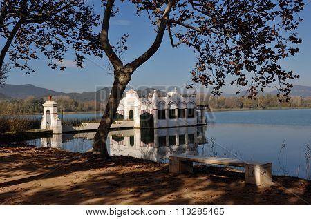 Banyoles Lake, Girona, Spain
