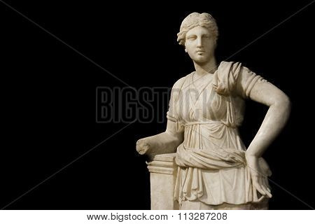 Sculpture Of Artemis at Istanbul Archeology Museum, Turkey