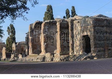 Roman ruins, Villa Adriana