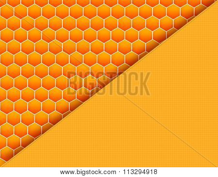 Cool honey comb pattern with plaid texture cell.