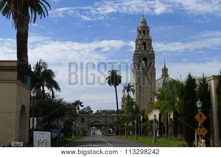 California Tower at Balboa Park
