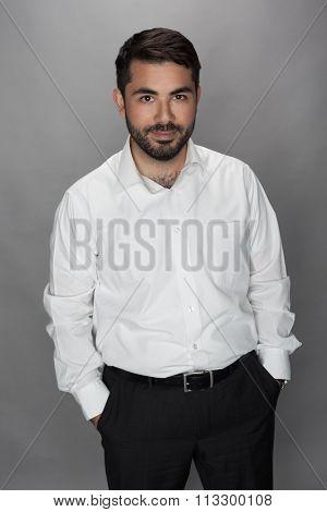 male businessman professional portrait