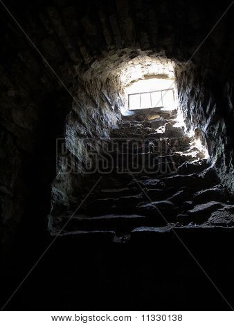 The window in dungeon