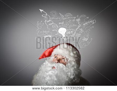 Santa Claus And Ideas.