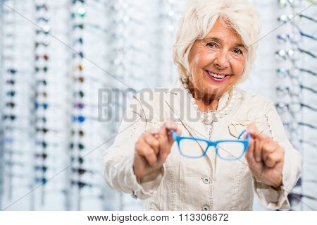 Smiling Opticians Patient