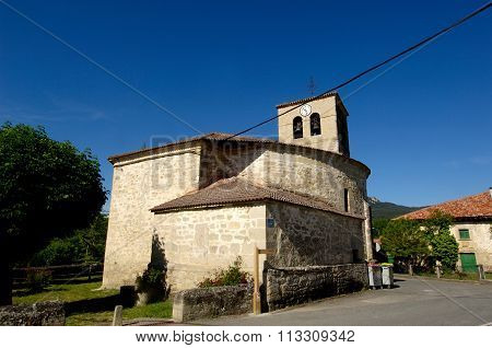 Church, Espejo, Alava, Basque Country,spain,religion, Building, Day
