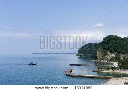 Ship In The Black Sea