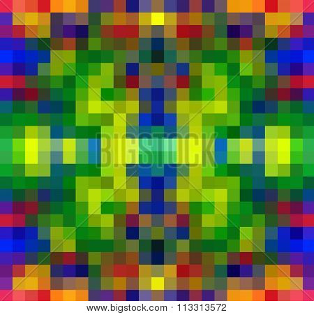 Colorful Mosaic for background