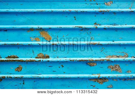 Corrugated Metal Sheet Background