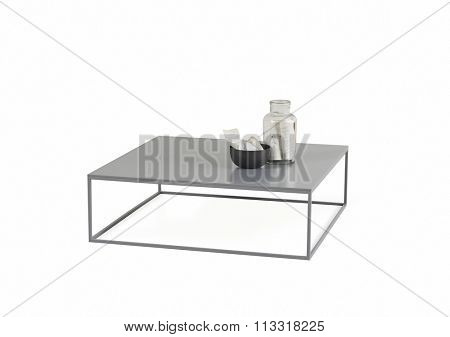 NEW FURNITURE LINE , MODERN DESIGN,  STRAIGHT LINES , MATERIALS : WOOD, METAL. ITEMS : RECTANGLE TABLE