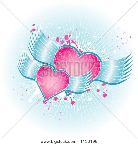 Two Pink Heart
